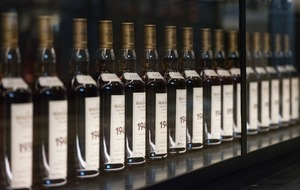 Whisky fans force road closure in scrum for rare bottles