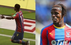 Jesse Lingard and Wilfried Zaha are unhappy with their out-of-date Fifa haircuts