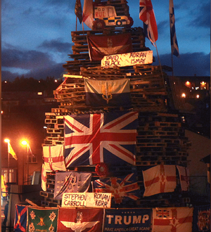 Cross-party condemnation of Bogside bonfire