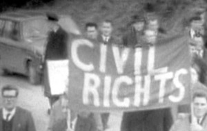 Events to mark 50th anniversary of the first civil rights march in 1968