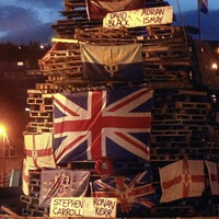 Murder victims' families disgusted at Derry bonfire