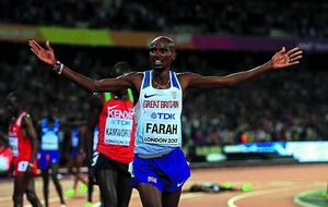 On this Day, August 17 2014: Mo Farah won the men's 5,000 metres at the European Championships