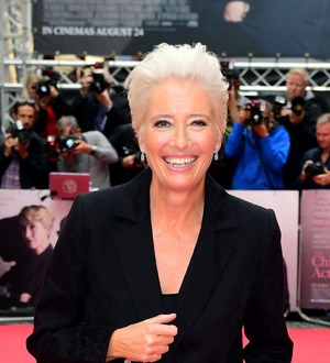 Emma Thompson says 'greatest place to find hope is with young generation'