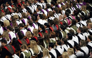 Number of students accepted onto degree courses falls