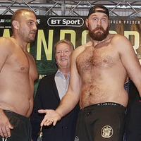 Tyson Fury promises to get serious as Deontay Wilder arrives to confirm WBC heavyweight rumble