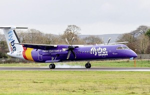 Captain shuts engine down as Flybe flight forced to return to Belfast