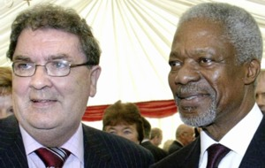 Irish government hails former UN secretary general Kofi Annan as a voice for a more peaceful world