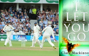 Can you help this author find the fan spotted reading her book at the cricket?