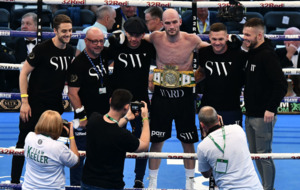 Steven Ward takes Irish title at Windsor Park fight night
