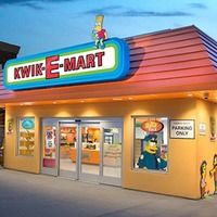 There's now a real Kwik-E-Mart to visit and you can buy Lard Lad Donuts