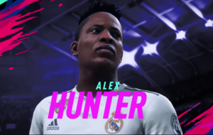 Alex Hunter is chasing Champions League glory in Fifa 19's The Journey