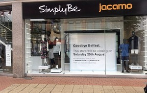 Simply Be and Jacamo to close Belfast store in latest blow to high street