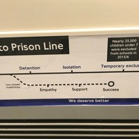Why this 'School to Prison' Tube line is popping up on GCSE results day
