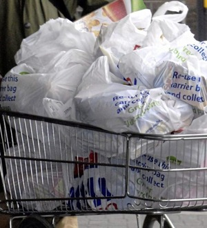 Stormont considers more action on plastic bags as levy rises in England