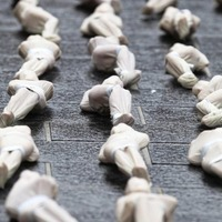 Art installation remembers the grave unknowns from the Battle of the Somme