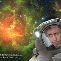 You can now pretend to be an astronaut with Nasa's new selfie app