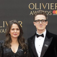 Tom and Giovanna Fletcher welcome third son
