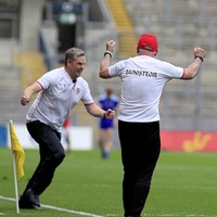 Mickey Harte lauds faithful Tyrone fans - and ignores online snipers