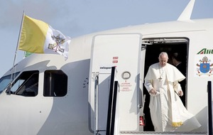 William Scholes: It's not every day you chat to the Pope on the papal plane