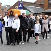 Funeral held for plastic bullet campaigner Brendan Duffy