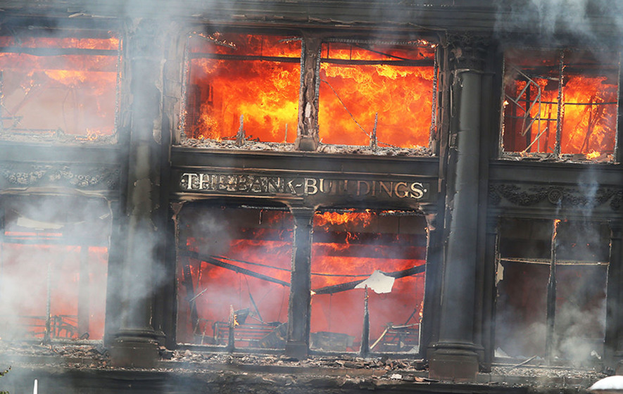 Video Fire Service Has Concerns Primark Building Could