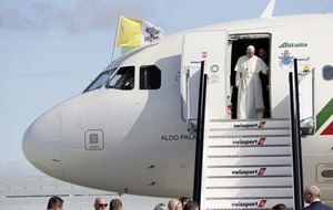 From Rome to Croke Park in 12 hours with Pope Francis