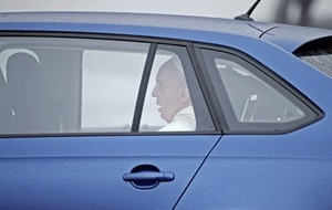 Popemobile with one careful owner and low miles donated to Derry charity