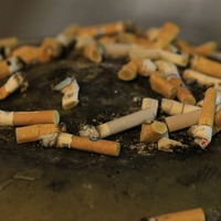 Half of smokers throw cigarette ends down the drain despite pollution fears