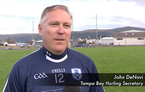 Video: Hurling fan travels from Florida to watch Antrim senior clash