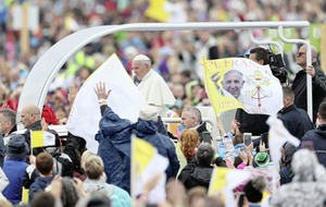 Martin O'Brien: Given all the negatives, it was remarkable just how many people turned out to see Pope Francis