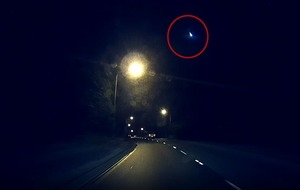 Incredible footage shows a fireball making its way across the sky in Australia