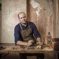 Belfast leatherworker Jason is keeping alive the family craft