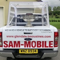 Tyrone GAA fans take inspiration from Pope's visit with 'Sam-mobile'