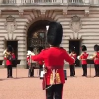 Watch: Soldiers play Aretha Franklin's Respect at Changing Of The Guard