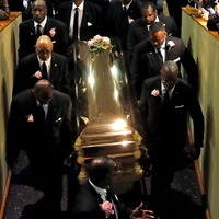 Aretha Franklin laid to rest as Bill Clinton leads tributes to Queen of Soul
