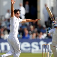 Relive the moment retiring England star Alastair Cook took his only Test wicket