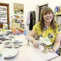I had no idea that clay could be so theraputic says China-bound ceramicist Ellen