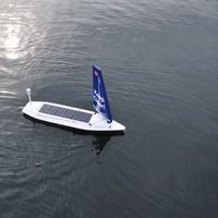 First unmanned sailboat to cross Atlantic celebrates success