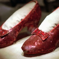 Judy Garland's stolen ruby slippers from Wizard Of Oz are found