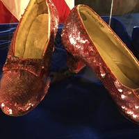 Sting operation recovered Judy Garland's stolen ruby slippers from Wizard Of Oz