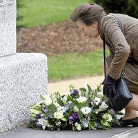 Princess Anne opens Northern Ireland Prison Service memorial garden