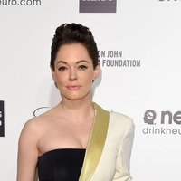 Rose McGowan says she represents 'those without voices' as she attends GQ Awards