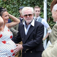 Chris Evans attends Goodwood Revival with wife after revealing radio switch