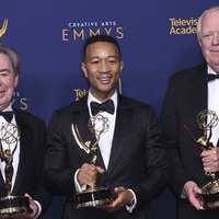 Andrew Lloyd Webber, Tim Rice and John Legend become EGOTs with Emmy win