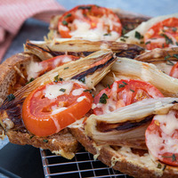 National Bread Week: Bread, Shallot and Tomato Tart