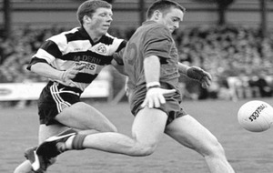 The Irish News Archive - Sep 14 1998: Omagh lose out but Niall McSorley's fighting spirit shines through in Tyrone final