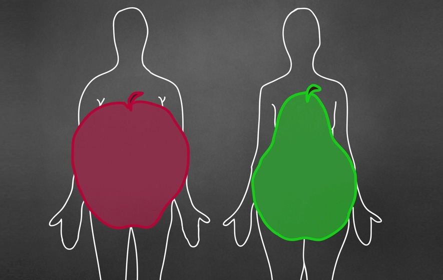 Which body shape is healthier – pear or apple? Scientists