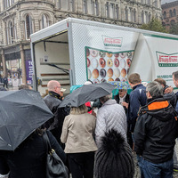 Krispy Kreme 'to apologise' over Belfast doughnut giveaway