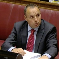 Andrew Crawford alleged spin doctor David Gordon briefed against him