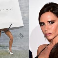 Victoria Beckham sparks carrier bag-wearing trend on social media